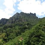 夏の妙義山