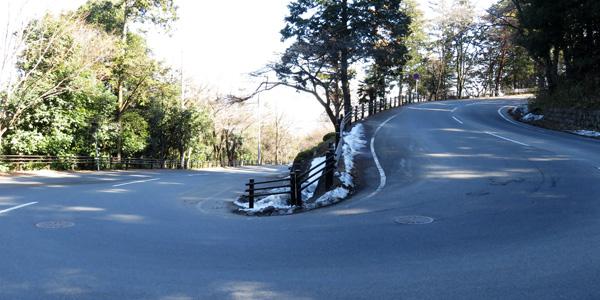 高崎観音山丘陵の道