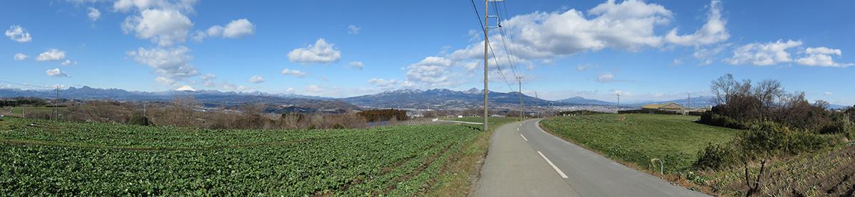 鼻高展望の丘パノラマ写真