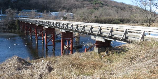 群馬県の高崎市中豊岡町と高崎市乗附町を結ぶ中乗橋