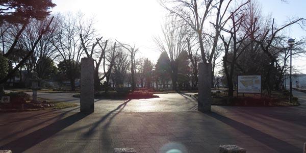 高崎公園入り口